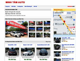 minhtamauto.bonbanh.com screenshot