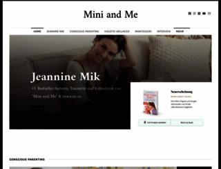 mini-and-me.com screenshot