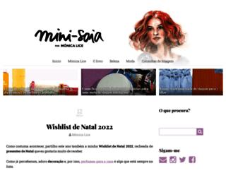 mini-saia.blogs.sapo.pt screenshot