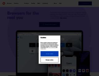 mini.opera.com screenshot