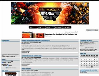 miniaturas.foroactivo.com screenshot