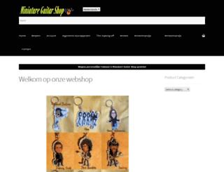miniatureguitarshop.com screenshot