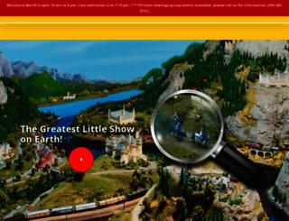 miniatureworld.com screenshot