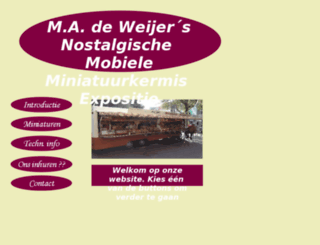 miniatuurkermis.com screenshot