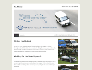 minibushirehertford.co.uk screenshot