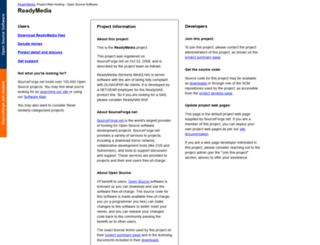 minidlna.sourceforge.net screenshot