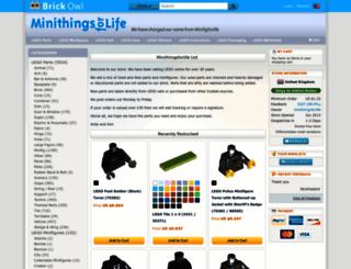 minifigforlife.brickowl.com screenshot