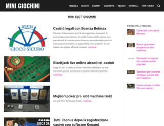 minigiochini.com screenshot