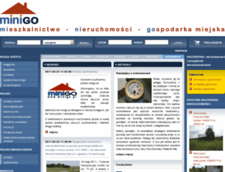 minigo.pl screenshot