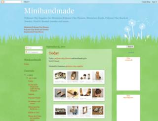 minihandmade.blogspot.com screenshot