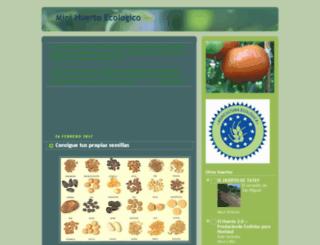 minihuertoecologico.blogspot.com screenshot