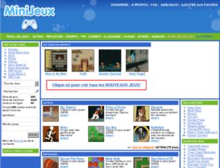 minijeux.com screenshot
