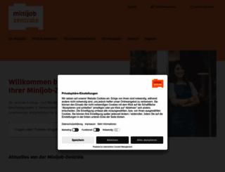 minijob-zentrale.de screenshot