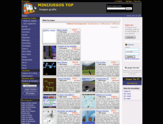 minijuegostop.com.mx screenshot