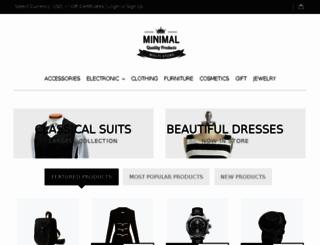 minimal-demo.mybigcommerce.com screenshot