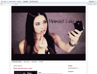 minimalist-lady.blogspot.com screenshot