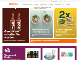 minimania.migros.ch screenshot