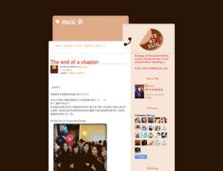 minimeini.blogspot.com screenshot