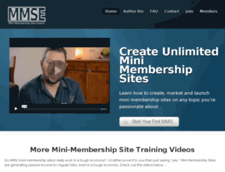 minimembershipsiteexpert.com screenshot