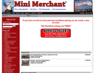 minimerchant.com screenshot