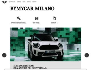 minimilano.mini.it screenshot