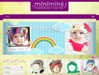 minimims.com.br screenshot