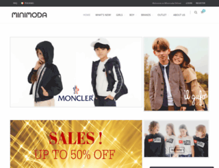 minimoda-online.com screenshot