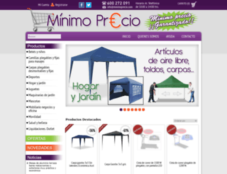 minimoprecio.com screenshot