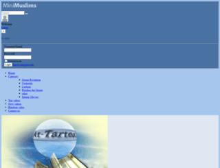 minimuslims.com screenshot