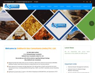 mininggeology-sgc.com screenshot
