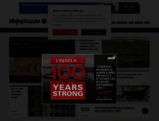 miningmagazine.com screenshot