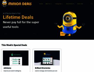 miniondeals.com screenshot