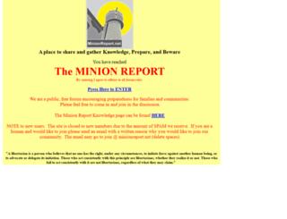 minionreport.net screenshot