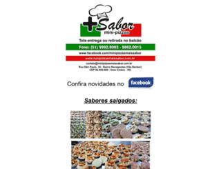 minipizzasmaissabor.com.br screenshot