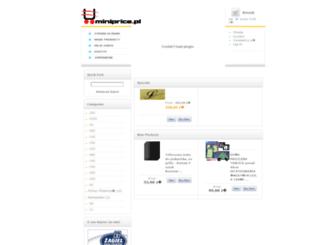miniprice.pl screenshot