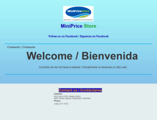 minipricestore.com screenshot