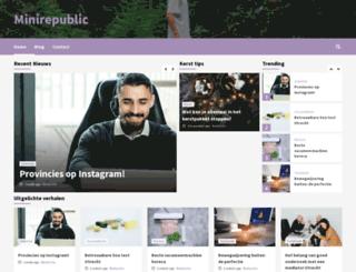 minirepublic.nl screenshot