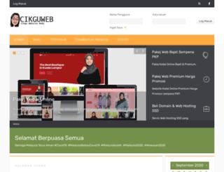 minisitemudah.com screenshot
