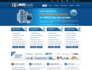 minisouls.com screenshot