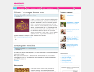 minissaias.blogspot.com screenshot