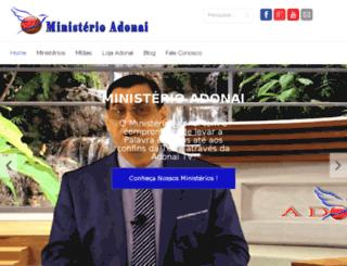 ministerioadonai.com.br screenshot
