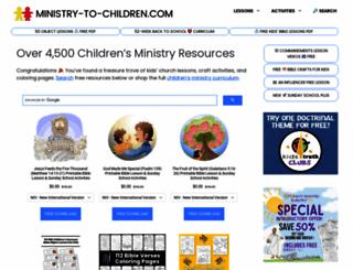 ministry-to-children.com screenshot