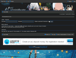 minitheatre.org screenshot