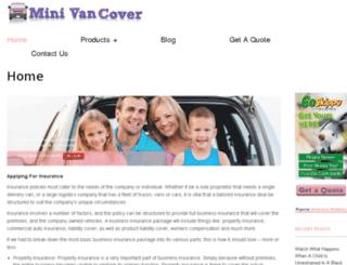 minivancover.com screenshot