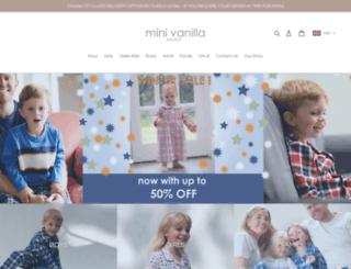 minivanilla.com screenshot