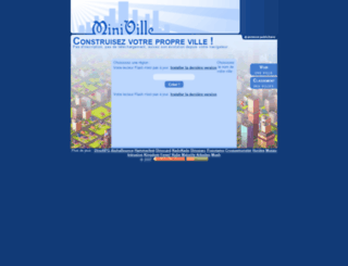 miniville.fr screenshot
