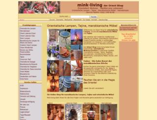 mink-living.de screenshot