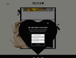 minkshoes.com screenshot