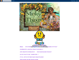 minkythings.blogspot.com screenshot