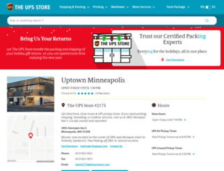 minneapolis-mn-2175.theupsstorelocal.com screenshot